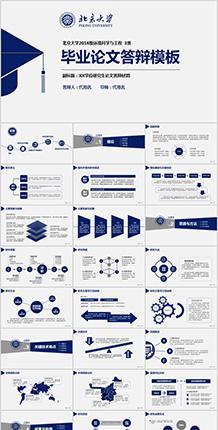 条目分类毕业论文PPT模板