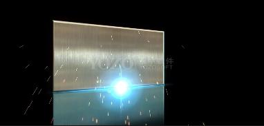 金属光线相册