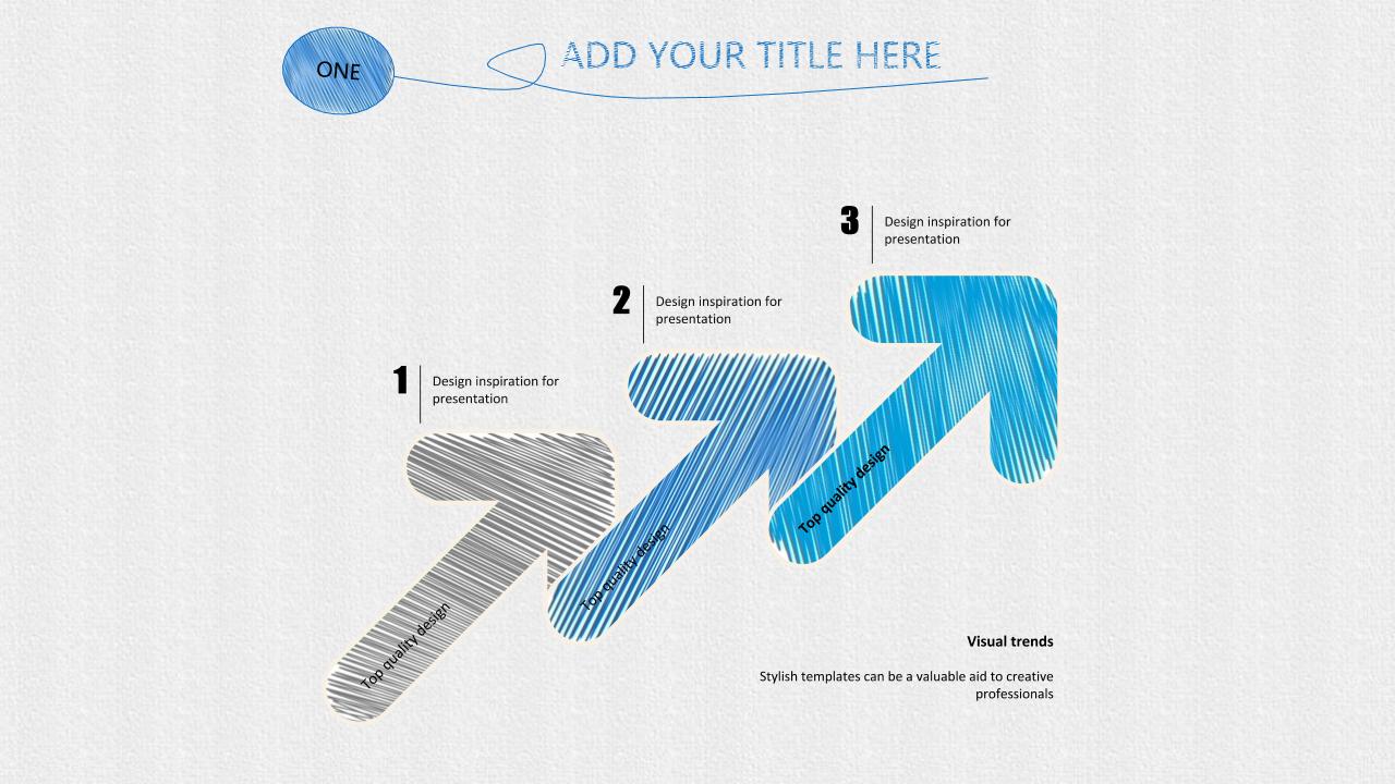 蓝色手绘风格PPT模板