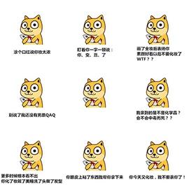 秋田犬系列可爱表情包